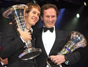 Vettel Christian Horner prêmio F1