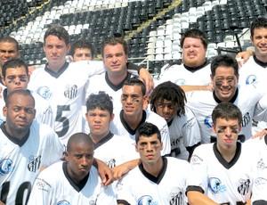 Futebol Americano - Santos joga na Vila Belmiro