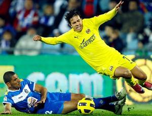 Nilmar na partidal do Villarreal contra o Getafe