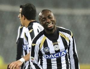 Pablo Armero comemora gol da Udinese contra o Fiorentina