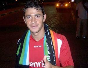 Internacional Mundial de Clubes Abu Dhabi - Giuliano com manta do Mundial