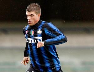 Davide Santon na partida do Inter de Milão