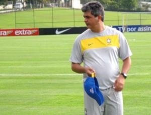 ney franco brasil sub 20 treino