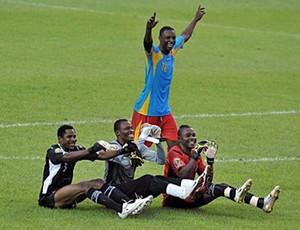 troféu congo derrota gana na final da copa africana  com jogadores locais