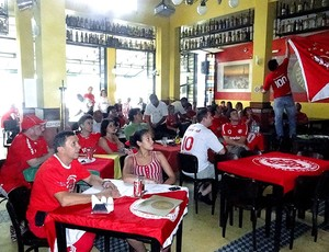 torcida do Internacional em Belo Horizonte
