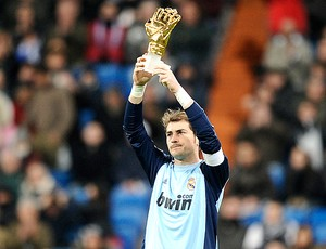 Casillas troféu Real Madrid x Sevilla