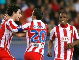 Tiago gol Atlético de Madri