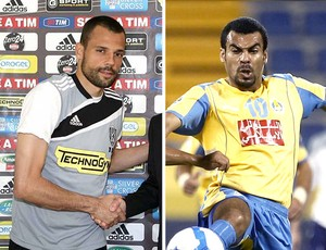 MONTAGEM - Diego Cavalieri e Araujo possíveis reforços do Fluminense