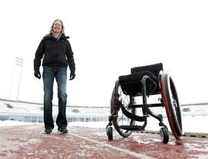 Monique Van Der Vorst atleta paraolímpica voltou a andar