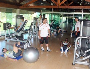 Daniel Jouvin preparador físico do Flamengo