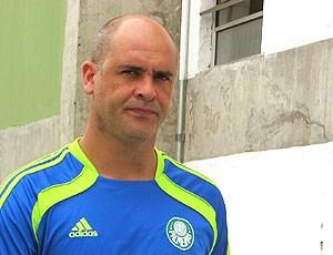 Marcos na reapresentação do Palmeiras