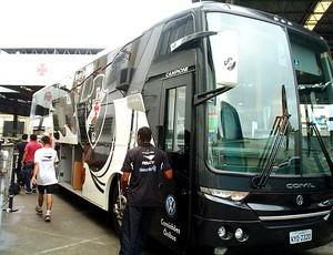 ônibus do Vasco para a pré temporada