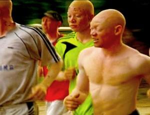 Os treinos do Albino United ocorrem no fim da tarde por causa do sol