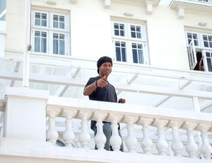 Ronaldinho Gaucho coletiva Copacabana Palace