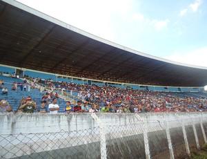 torcida Flamengo estádio café (Foto: Richard Fausto / Globoesporte.com)