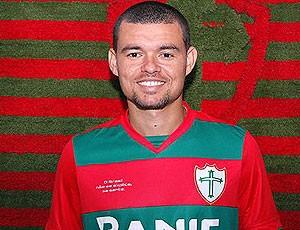 Marcelo Cordeiro apresentado na Portuguesa (Foto: Divulgação / Site Oficial da Portuguesa)