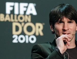 Messi no prêmio Bola de Ouro da FIFA