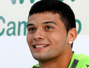 Willian Morais America-MG apresentação (Foto: Tarcísio Badaró / Globoesporte.com)
