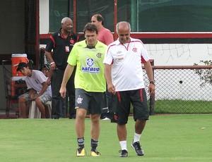 Petkovic treino Flamengo