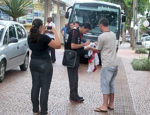 Ronaldo Angelim Flamengo autógrafo