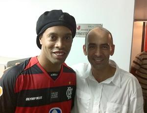 Ronaldinho Gaúcho e Régis Rösing