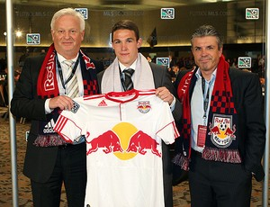 John Rooney apresentado no NY Red Bulls