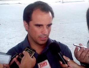 rodrigo caetano vasco entrevista (Foto: Felippe Costa / Globoesporte.com)