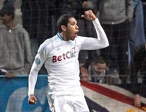 Brandão gol Olympique de Marseille (Foto: Reuters)