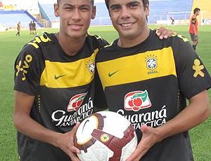 Neymar Henrique seleção sub-20 (Foto: Márcio Iannacca / Globoesporte.com)