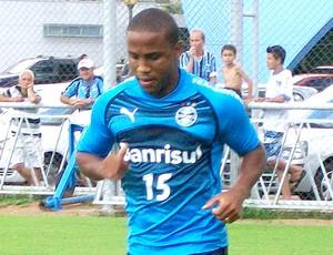 borges treino grêmio (Foto: Eduardo Ceconi/Globoboesporte.com)