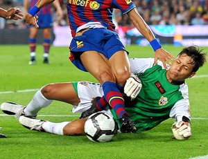 diego alves almeria (Foto: Getty Images)