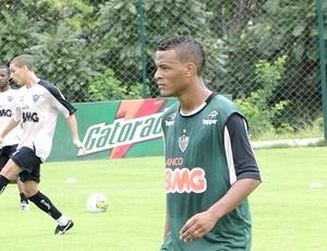 Patric treino Atlético-MG (Foto: Valeska Silva / Globoesporte.com)