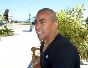 Arévalo do Botafogo na praia