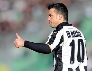 Di Natale comemora gol da Udinese contra o Inter de Milão