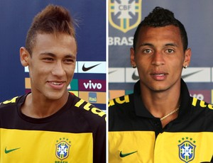 Montagem Neymar Alan Patrick