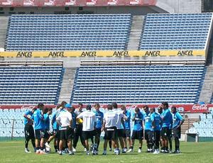 conversa no treino do Grêmio