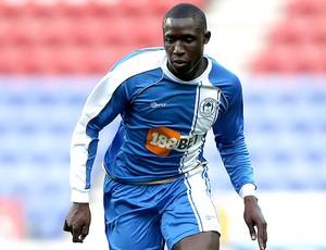 Mohamed Diame na partida do Wigan