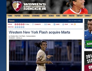 marta Western New York Flash