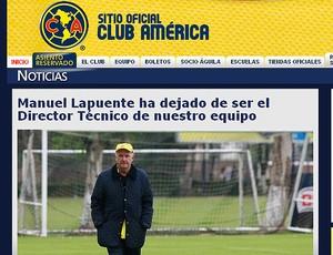 Manuel Lapuente américa do méxico