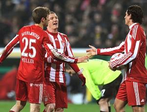 Thomas Mueller comemora gol do Bayern de Munique