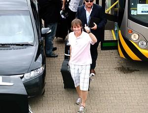 Fernando Cavenaghi desembarcando para o Internacional