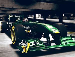 lançamento do novo carro da carro da Lotus Renault