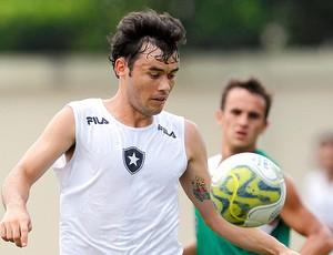 Renato Cajá no treino do Botafogo (Foto: Jorge Wiliam / Agência O Globo)