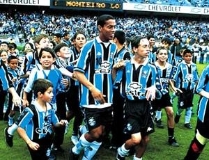 Ronaldinho Gaúcho no Grêmio (Foto: Divulgação / Site Oficial)