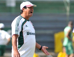 Muricy Ramalho no treino do Fluminense