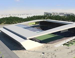 Estádio Corinthians Fielzão (Foto: Divulgação )