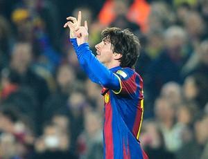Messi gol Barcelona (Foto: AP)