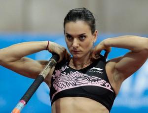 Yelena Isinbayeva , moscou salto com vara atletismo (Foto: Agência Reuters)