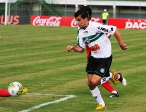 Eltinho, do Coritiba, na vitória contra o Rio Branco (Foto: Divulgação/Coritiba)