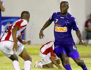Gilberto Cruzeiro x Villa Nova (Foto: Washington Alves / VIPCOMM)